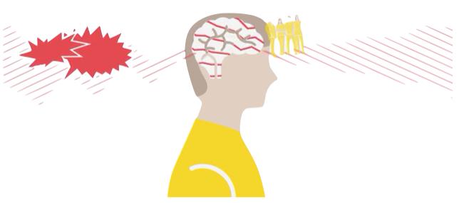 overbelast brein