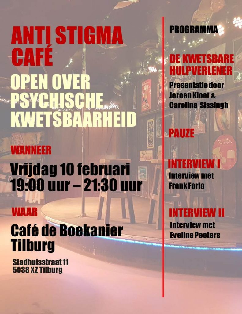 Flyer Anti Stigma Café