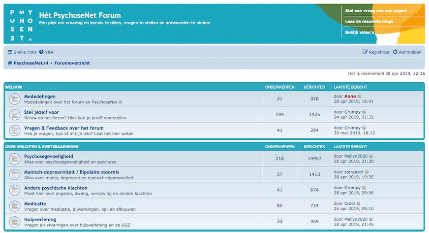 PsychoseNet Forum