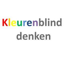 Kleurenblind denken