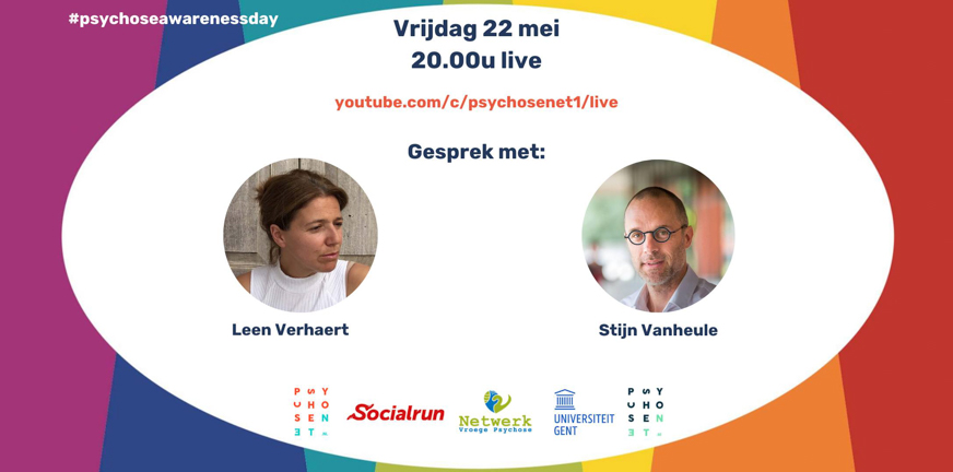 Psychose awareness day vrijdag 22 mei 2020