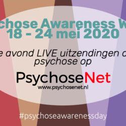 PsychoseNet Live uitzendingen awareness week 2020
