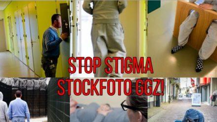 stop stigma stockfoto ggz
