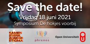 Symposium de hokjes voorbij - Samen Sterk zonder Stigma