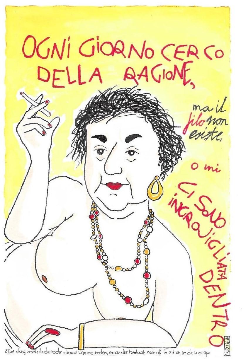 Alda Merini (grote afb.)