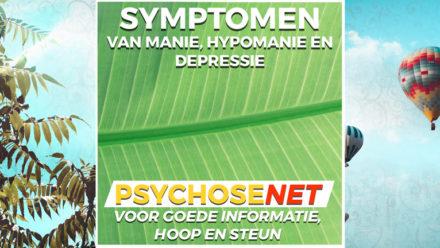 Pagina Symptomen van manie, hypomanie en depressie