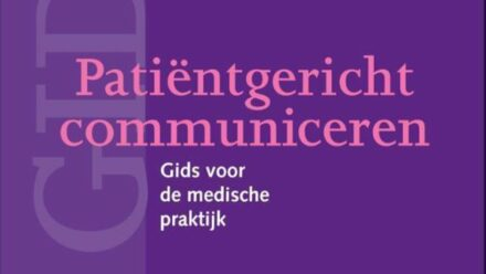 Boek Patientgericht communiceren