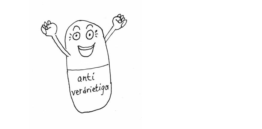 Blog Depressie of rouw? Pillen of troosten?
