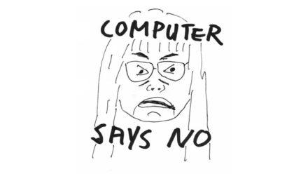 Blog Gelukkig willen worden lukt niet - Computer says no