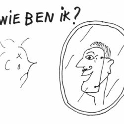 Blog Identiteit een plastic masker of het kwetsbare vlees eronder