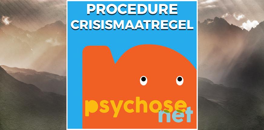 Pagina Procedure crisismaatregel
