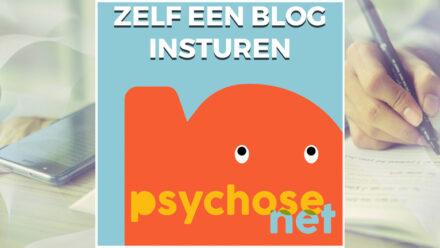 Pagina Zelf een blog insturen