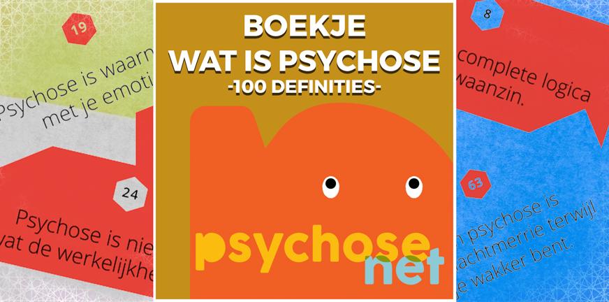 Pagina - Boekje wat is psychose